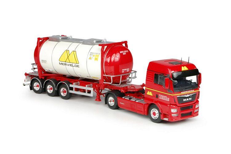 MAN TGX Euro 6 XLX  Swap Tankcontainer Mervielde