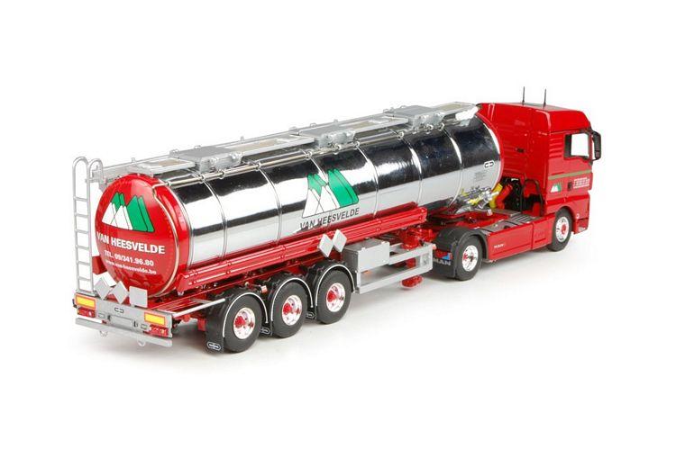 MAN TGX Euro 6 XLX tankauflieger Heesvelde van