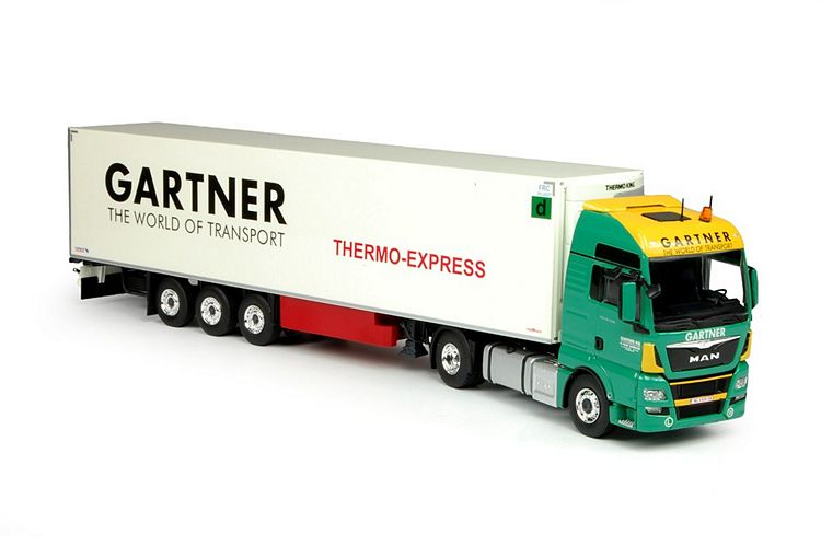 MAN TGX Euro 6 XXL Kühlauflieger Gartner KG