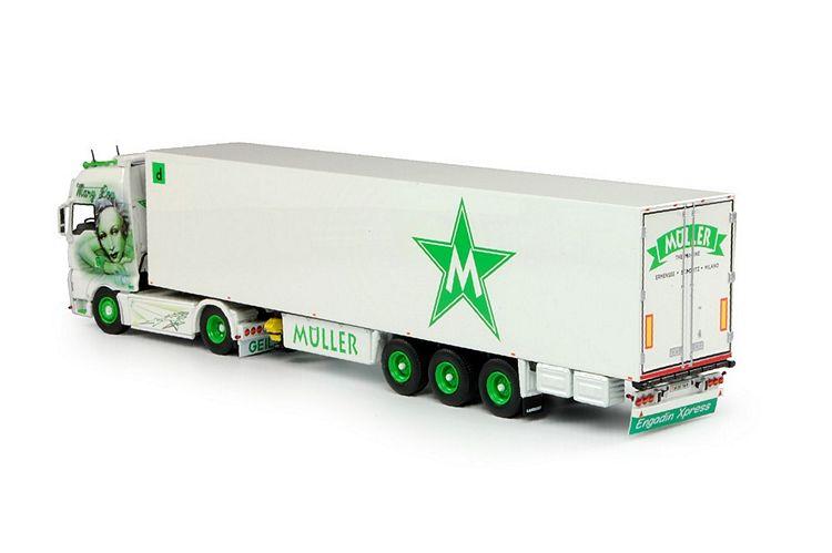 MAN TGX Euro 6 XXL Kühlauflieger Müller