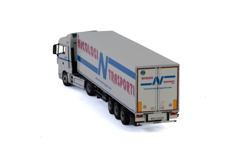 MAN TGX XLX Euro 6 Reefer  Nicolosi Trasporti