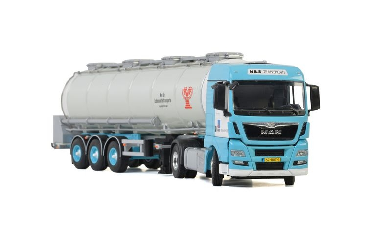 MAN TGX XLX Euro 6 Tank Trailer  H&S Transport