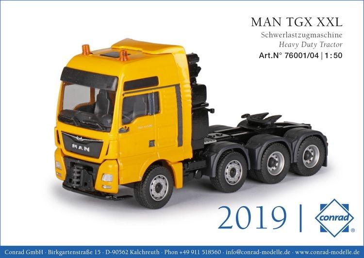 MAN TGX XXL D38 41.640 Schwerlastzugmaschine