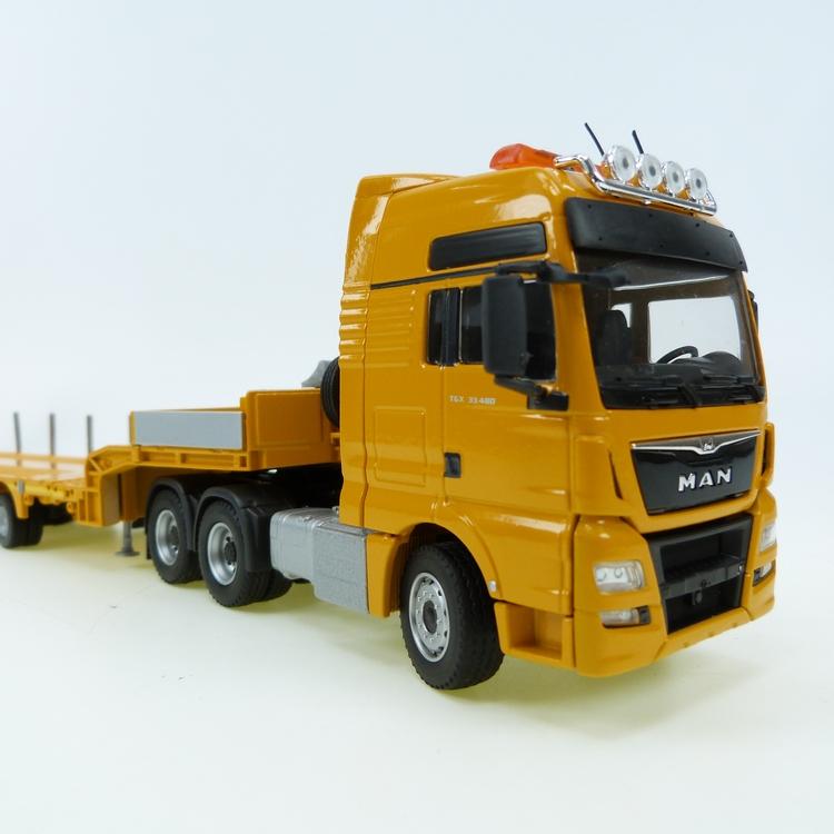 MAN TGX XXL Euro 6 Doll  Tieflader 1007