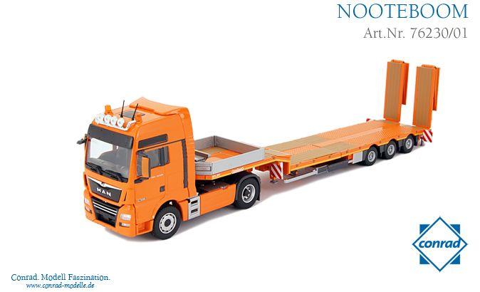 MAN TGX XXL Euro 6  Semitieflader Nooteboom