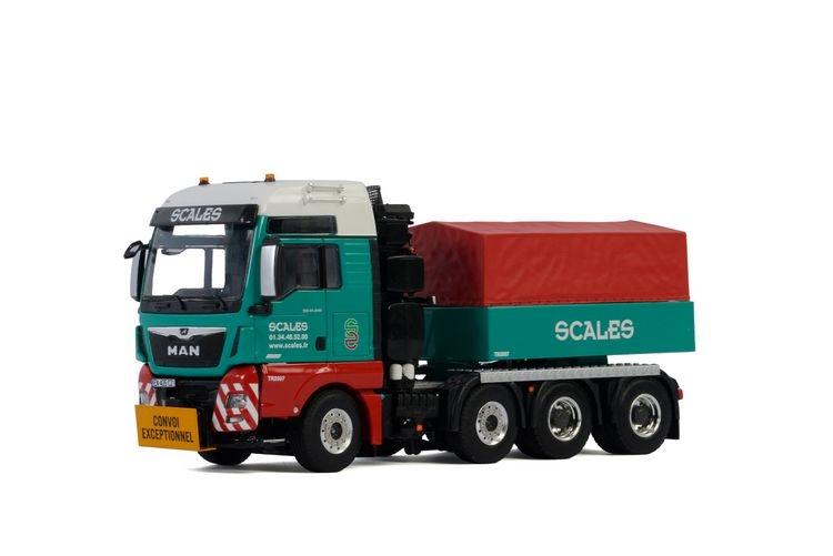 MAN TGX XXL Euro 6c  Ballastbox Scales