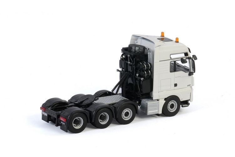 MAN TGX XXL Euro 6C Facelift 8X4 White Line