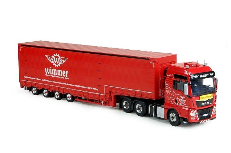 MAN TGX XXL  Meusburger trailer Wimmer Felbermayr