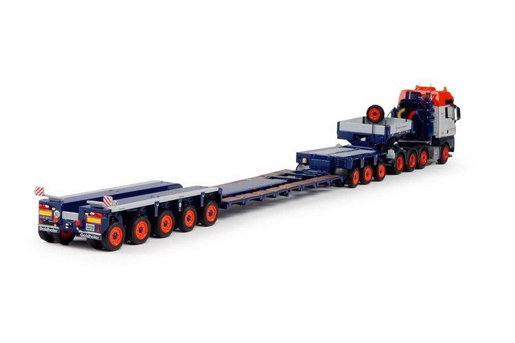 MAN TGX XXL traktor mit Goldhofer Universal
