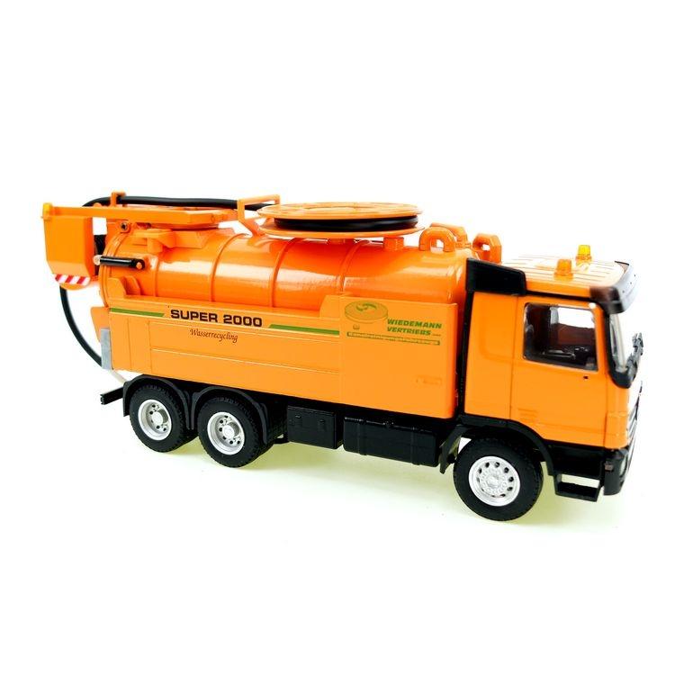 MB Actros 3axle WIEDEMANN & REICHHARDT Super 2000 orange