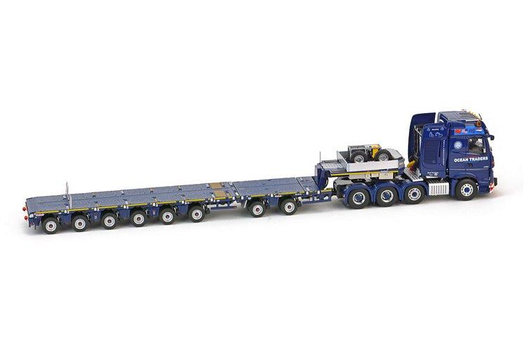 MB Actros 8x4  Nooteboom Ocean Traders