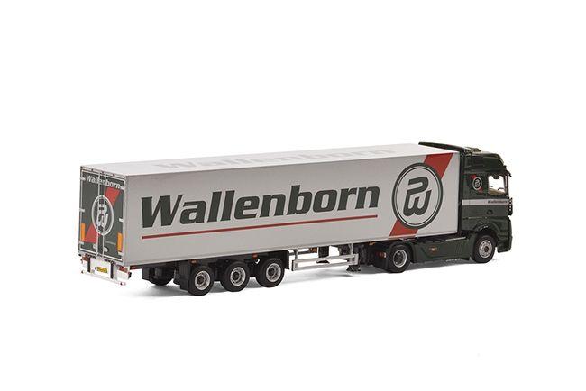 MB Actros Big Space Kofferauflieger   Wallenborn