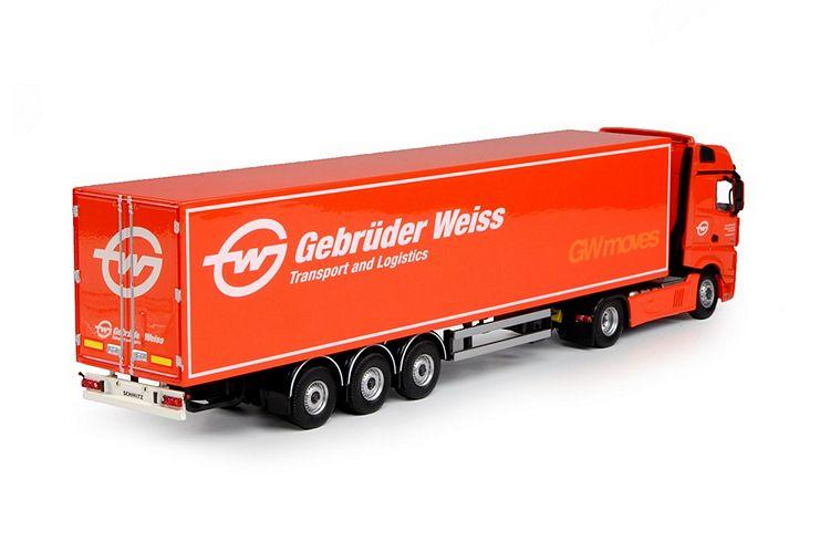 MB Actros Bigspace kastenauflieger Gebrueder Weiss