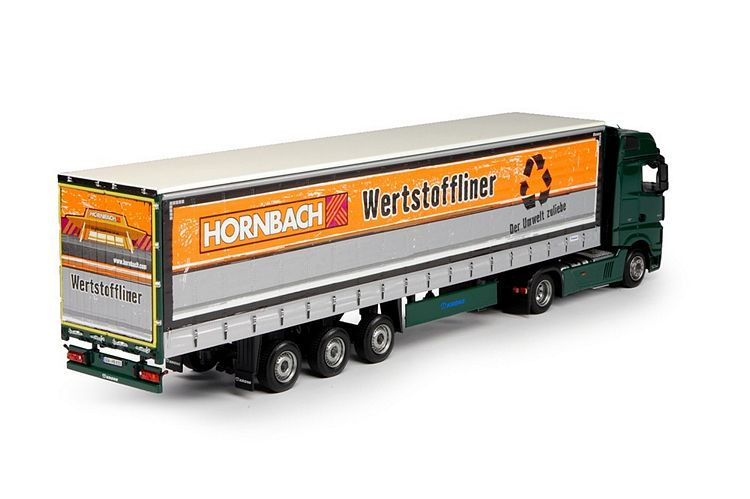 MB Actros Bigspace Schiebeplanen Hornbach