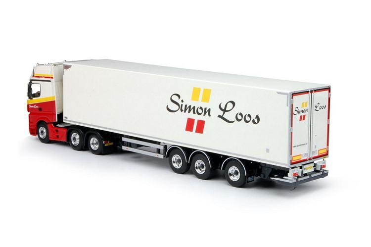 MB Actros Kühlauflieger Loos Simon Special