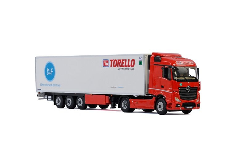 MB Actros M4 Stream Space Reefer Torello Trasporti Srl