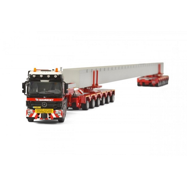 MB Actros Mammoet beam transport