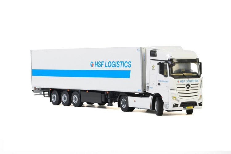 MB Actros MP4 Big Space Reefer HSF Logistics