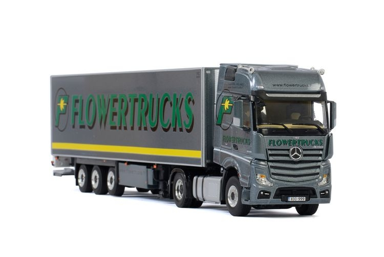 MB Actros MP4 Giga Space Reefer Flowertrucks