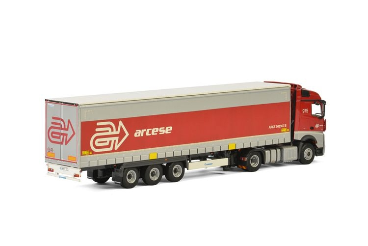 MB Actros MP4  Planenauflieger Arcese