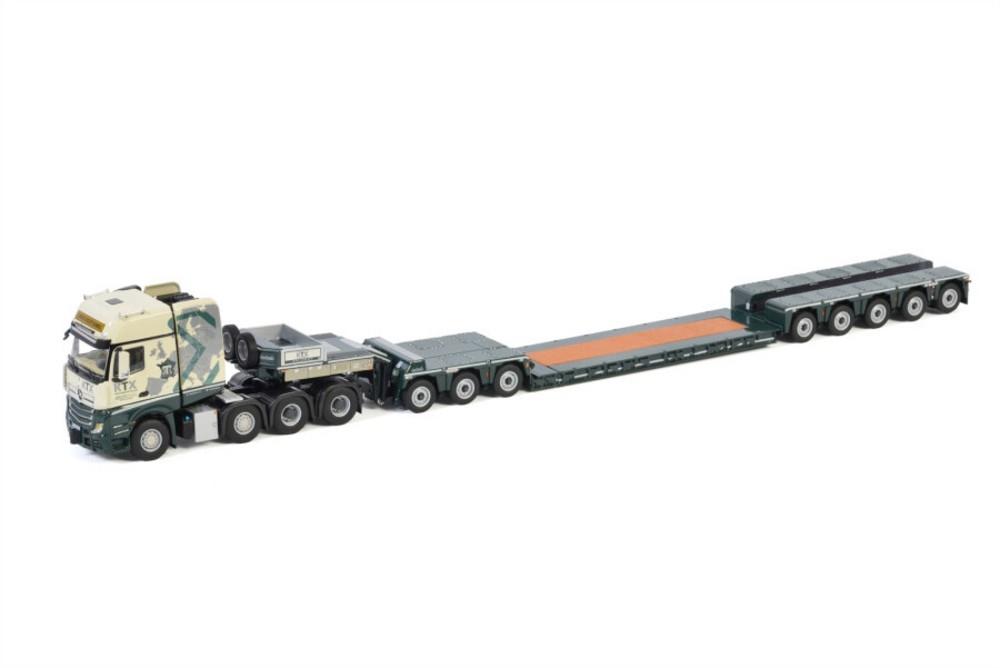 MB Actros MP4 SLT Giga  Lowloader  Transport KTX