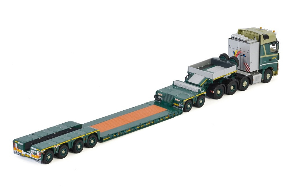 MB Actros MP4 SLT Lowloader Dolly  Bolk Transport