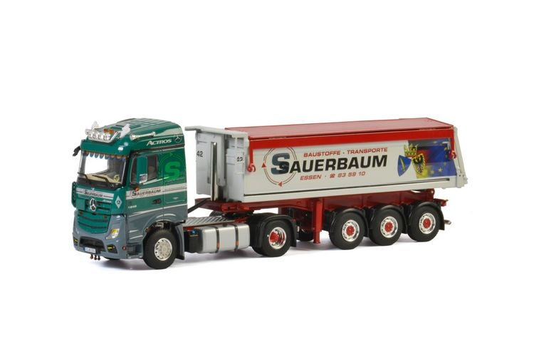 MB Actros MP4 Stream Space Tipper  Sauerbaum