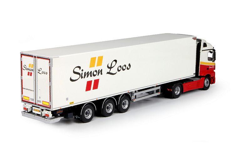 MB Actros Streamspace Kühlauflieger Loos Simon