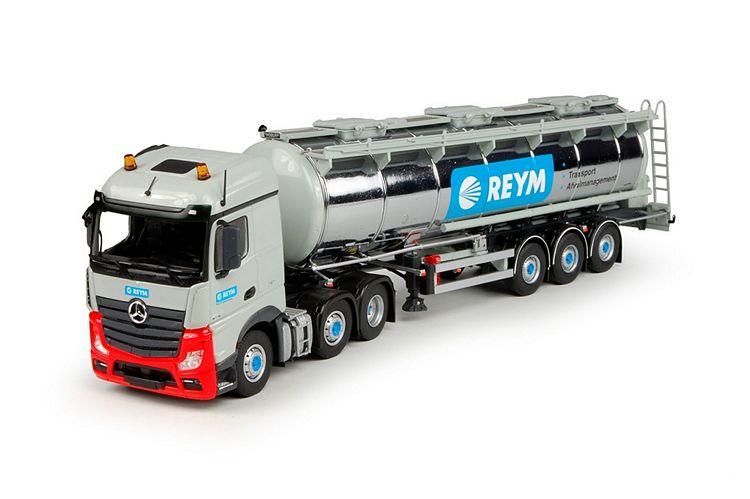 MB Actros Streamspace tankauflieger Reym