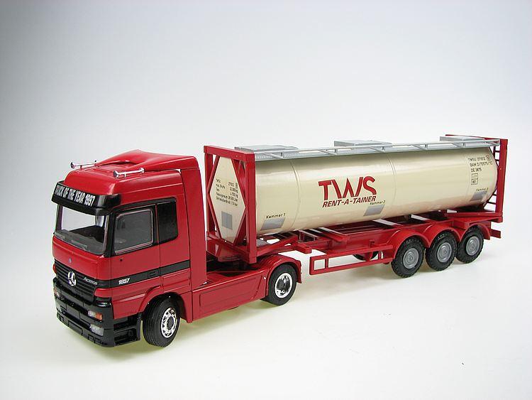 MB Actros Tanklastzug TWS