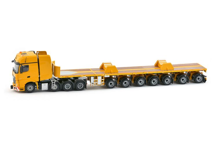 MB Actros2 GigaSpace Ballasttrailer Yellow Series
