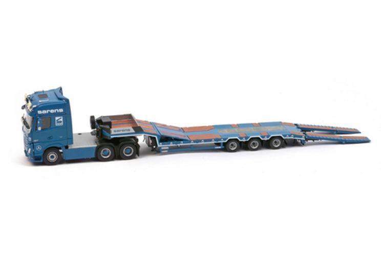 MB Actros2 GigaSpace Semi low loader  Sarens