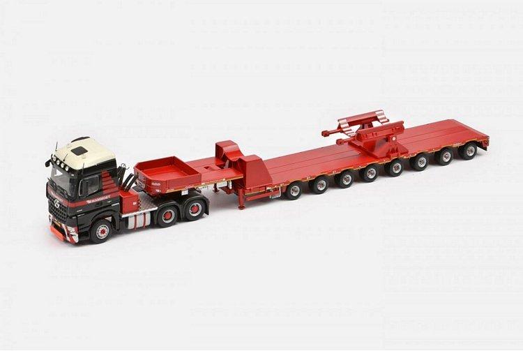 MB Arocs 6x4  Mammoet LTM 11200 saddles