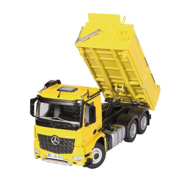 MB Arocs 6x4 Meiller Kipper gelb