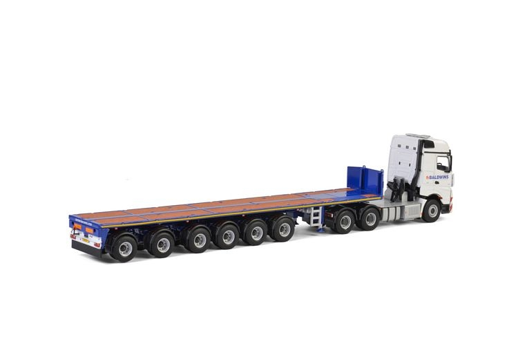 MB Arocs MP4 Big Space Ballast Trailer Baldwins