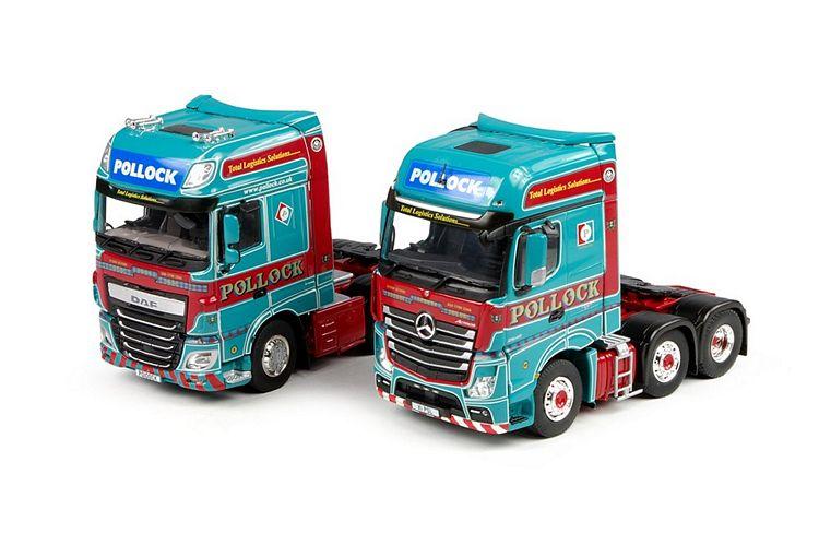 MB Gigaspace DAF Euro 6 XF SSC Pollock Set