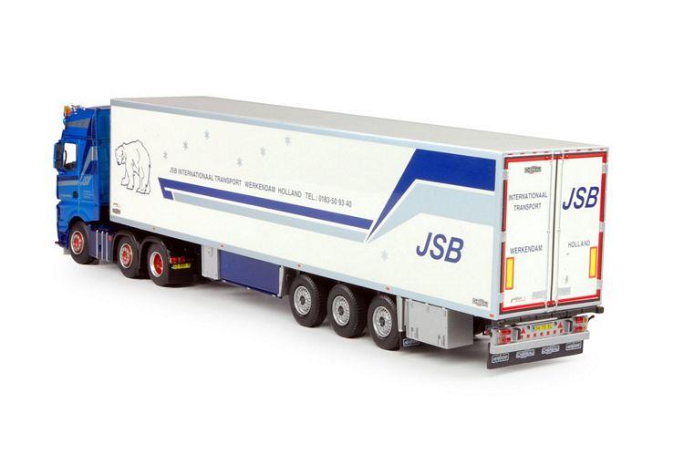 MB Gigaspace  Kühlauflieger Swijnenburg JSB