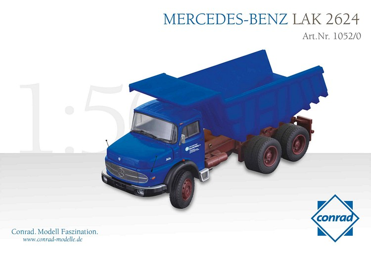 MB LAK 2624 Rundhauber mit Steinmulde HUCKSCHLAG