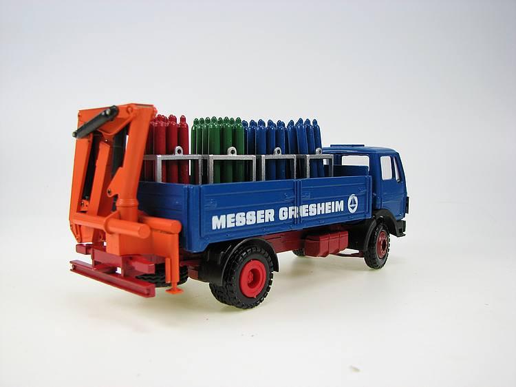 MB Messer Griesheim Palettenwagen
