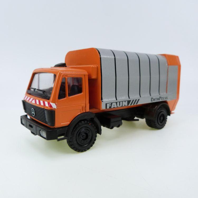 MB Müllwagen Faun RotoPress