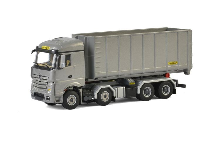MB MP4 Actros Hooklift Container 40M3 Palfinger