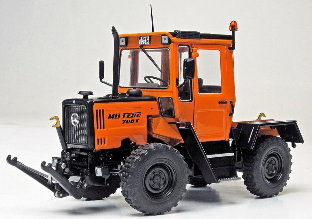 MB-trac 700 K W440 Kommunal