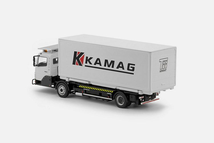 MB Wiesel Container KAMAG White