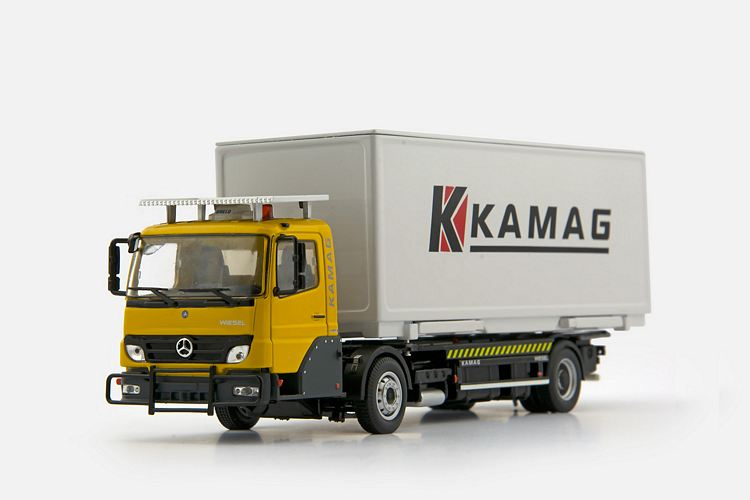 MB Wiesel Container KAMAG yellow