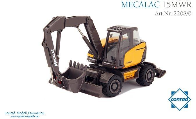Mecalac 15 MWR Mobilbagger