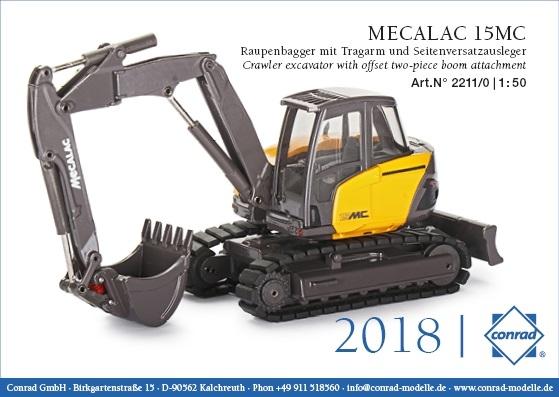 Mecalac 15MC Raupenbagger