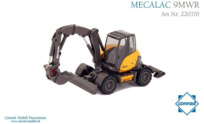 Mecalac 9 MWR Mobilbagger