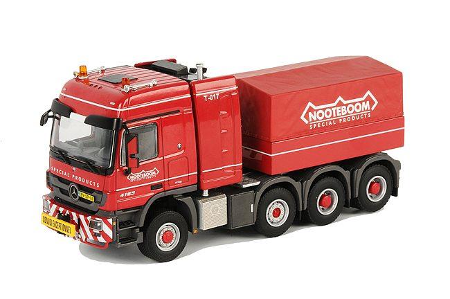 Mercedes 8x6 Ballast truck + Counterweight Nooteboom