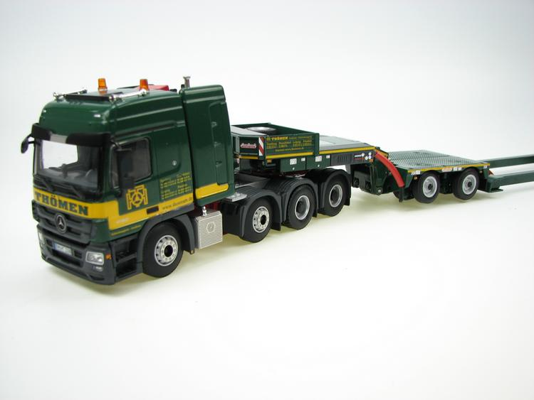 Mercedes Actros MP3 4160 8x4 Thömen