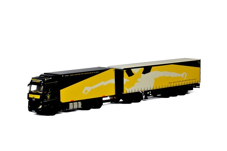 MERCEDES BENZ ACTROS MP4 Mega Line 6x2 Sovereign Speed